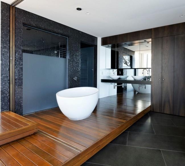 Красивая ванная комната в стиле модерн