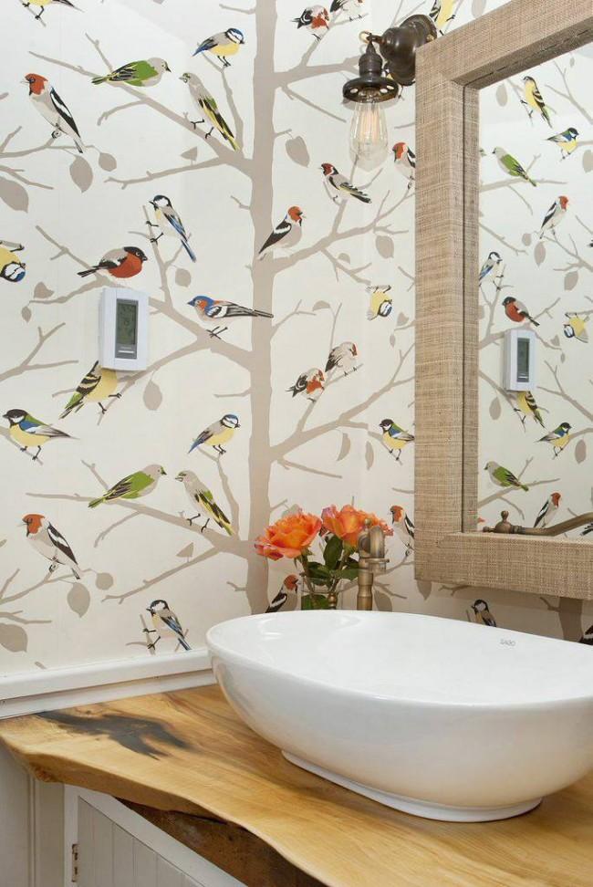 Обои с влагостойким покрытием, которые подходят для оклейки кухонь и ванных комнат - относятся именно к дуплексным