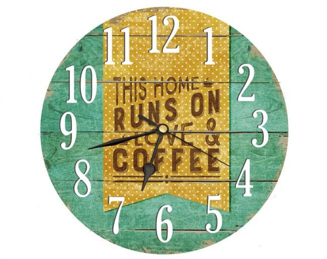 """Идея для настенных часов для кухни в современном стиле или стиле """"лофт"""""""