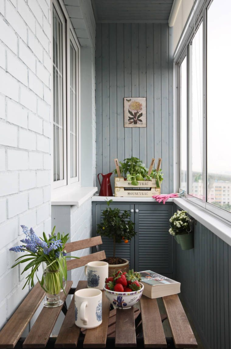 Дизайн балкона. идеи.