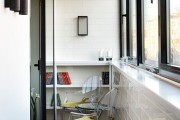 Фото 20 Остекление балконов и лоджий: виды, технологии, цены (120+ фото)