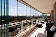 Фото 29 Остекление балконов и лоджий (150+ фото): виды, технологии, цены