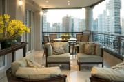 Фото 40 Остекление балконов и лоджий: виды, технологии, цены (120+ фото)