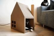 Фото 8 Делаем дом для кошки своими руками: выбор материалов и пошаговые мастер-классы