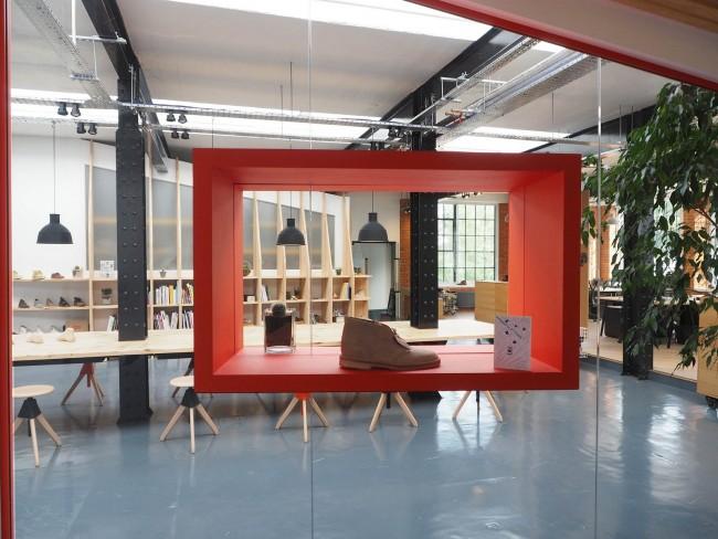 Парижская дизайн-студия производителя обуви Clarks Originals. Площадь - около 300 кв. м