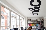 Фото 23 Дизайн интерьера офиса: 65 лучших фото со всего мира