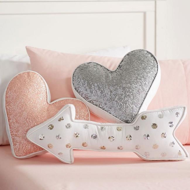 Подушки в форме сердца своими руками