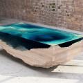 Кофейный столик (60+ фото): сочетаем неординарный дизайн и удобство в современной гостиной фото