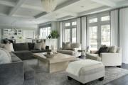 Фото 23 Кофейный столик (60+ фото): сочетаем неординарный дизайн и удобство в современной гостиной