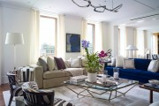 Фото 29 Кофейный столик (60+ фото): сочетаем неординарный дизайн и удобство в современной гостиной