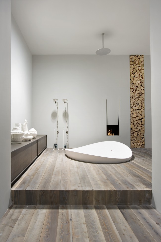 Ванну по праву называют «сердцем» ванной комнаты