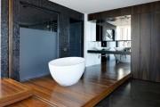Фото 1 Акриловая ванна: существующие размеры и правила постоянного ухода (120 фото)