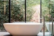 Фото 38 Акриловая ванна: существующие размеры и правила постоянного ухода (120 фото)