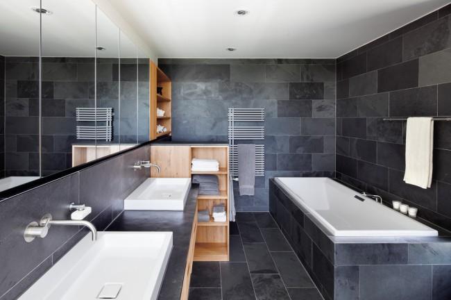 Ванна из акрила является отличным выбором для современного интерьера