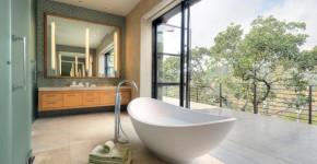 Акриловая ванна: существующие размеры и правила постоянного ухода (120 фото) фото