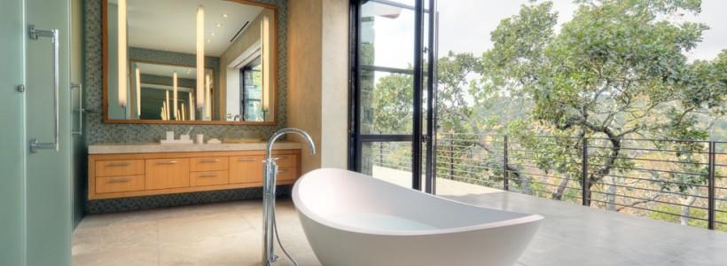 Акриловая ванна: существующие размеры и правила постоянного ухода (120 фото)