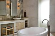 Фото 46 Акриловая ванна: существующие размеры и правила постоянного ухода (120 фото)
