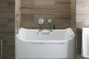 Фото 14 Акриловая ванна: существующие размеры и правила постоянного ухода (120 фото)
