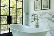 Фото 19 Акриловая ванна: существующие размеры и правила постоянного ухода (120 фото)