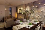 Фото 10 Отделка современной квартиры камнем (50 фото): солидно, стильно и уютно