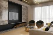 Фото 12 Отделка современной квартиры камнем (50 фото): солидно, стильно и уютно