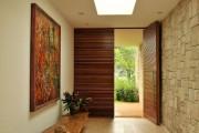 Фото 2 Отделка современной квартиры камнем (50 фото): солидно, стильно и уютно