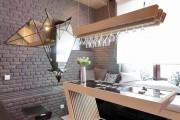 Фото 3 Отделка современной квартиры камнем (50 фото): солидно, стильно и уютно
