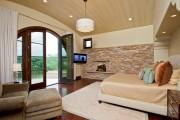 Фото 23 Отделка современной квартиры камнем (50 фото): солидно, стильно и уютно