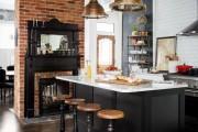 Фото 8 50+ Идей дизайна потолка на кухне: Какой лучше ? Полезные рекомендации специалистов (фото)