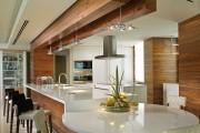 Фото 11 50+ Идей дизайна потолка на кухне: Какой лучше ? Полезные рекомендации специалистов (фото)