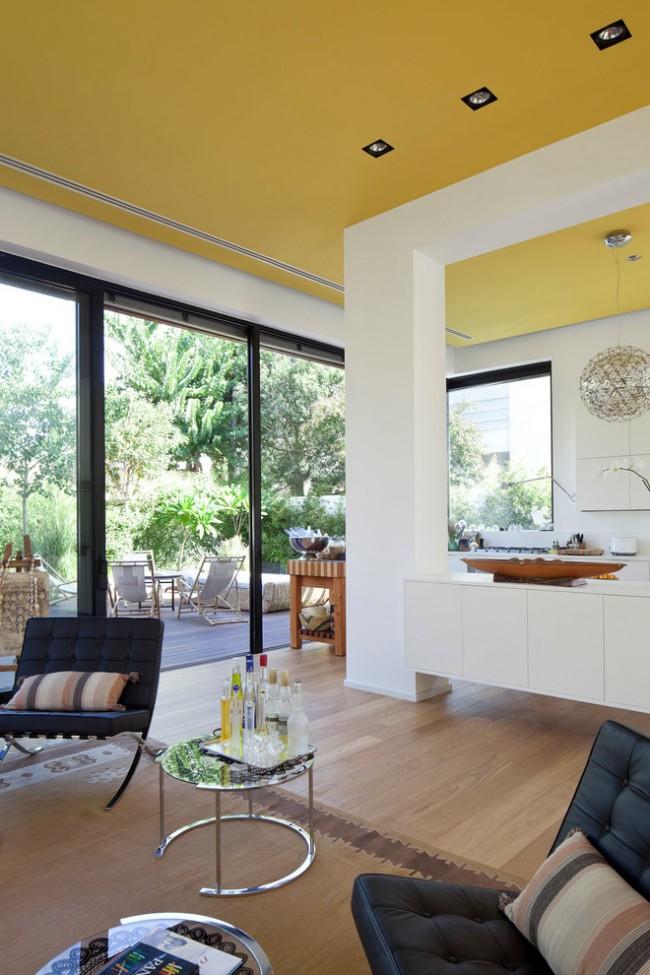 Желтый цвет в интерьере кухни – это энергия и ощущение свежести
