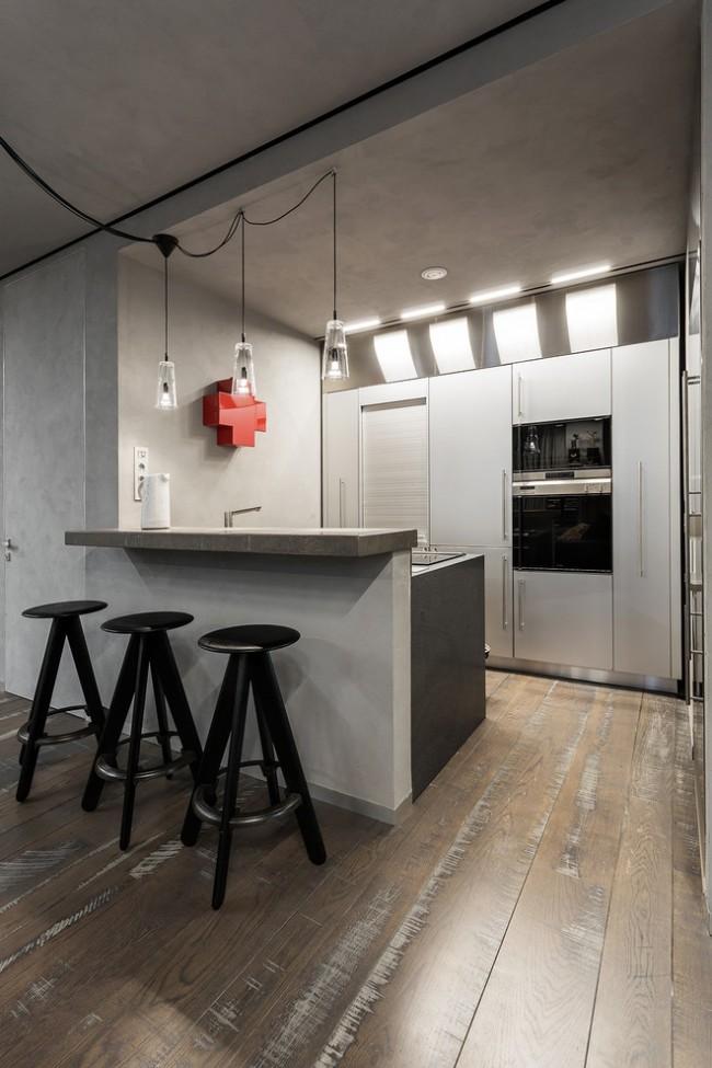 Бетон и декоративная штукатурка – хиты в современном интерьере