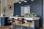 Фото 2 50+ Идей дизайна потолка на кухне: Какой лучше ? Полезные рекомендации специалистов (фото)