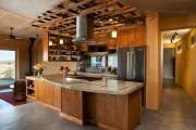 Фото 13 50+ Идей дизайна потолка на кухне: Какой лучше ? Полезные рекомендации специалистов (фото)