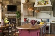 Фото 18 50+ Идей дизайна потолка на кухне: Какой лучше ? Полезные рекомендации специалистов (фото)