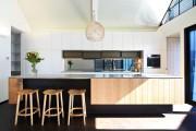 Фото 17 50+ Идей дизайна потолка на кухне: Какой лучше ? Полезные рекомендации специалистов (фото)