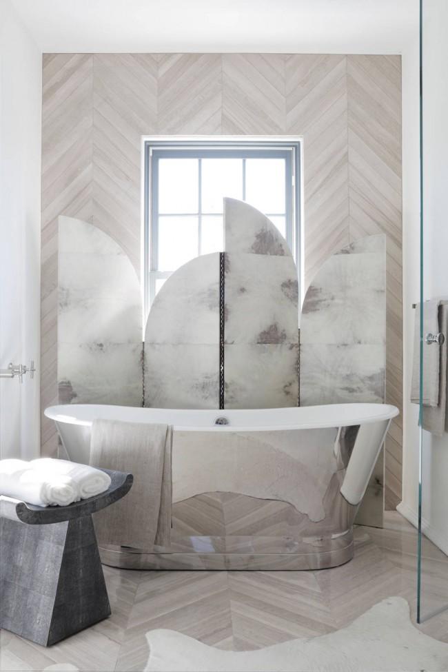 Арт-деко дизайн ванной