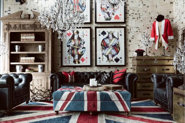 Английский стиль в интерьере: 50 роскошных фото
