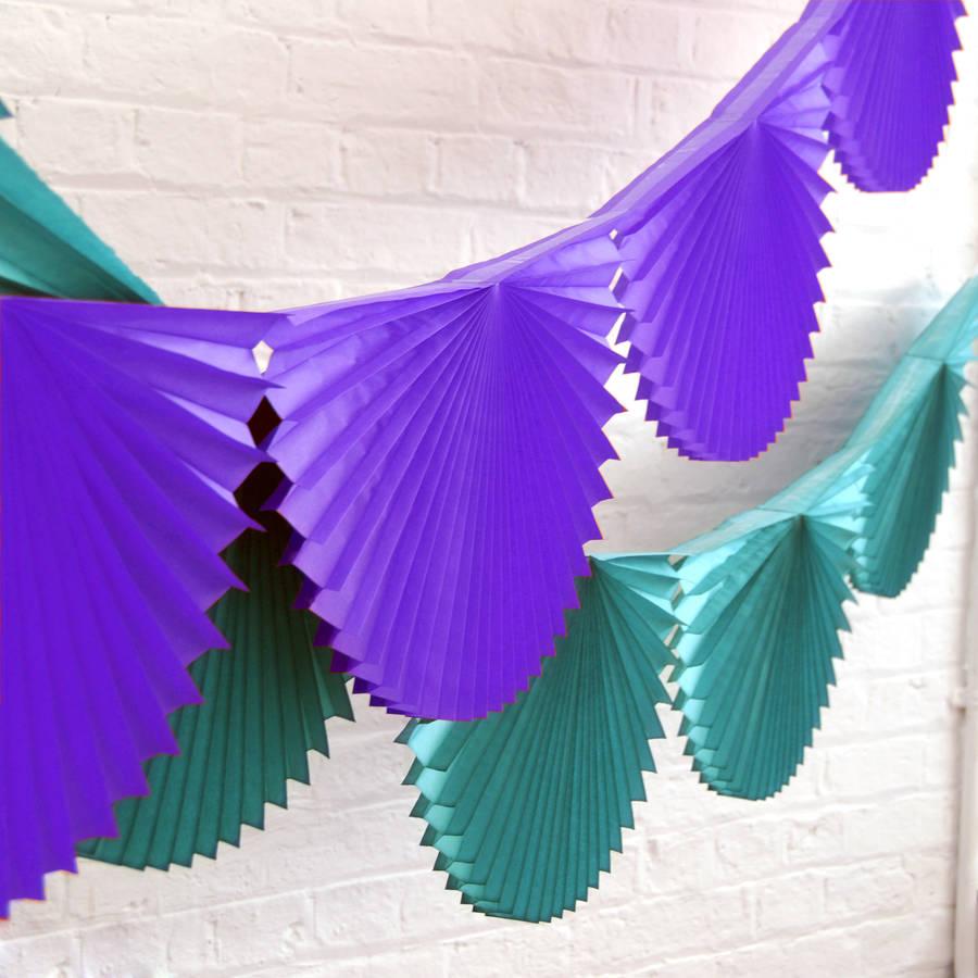 Как сделать украшение из бумаги веер своими руками из 51