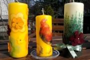 Фото 23 Декупаж свечей: (50 фото) мастер-классы с идеями праздничного декора