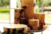 Фото 4 Декупаж свечей: (50 фото) мастер-классы с идеями праздничного декора