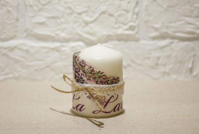 Милая свеча, послужит прекрасным подарком любимому человеку