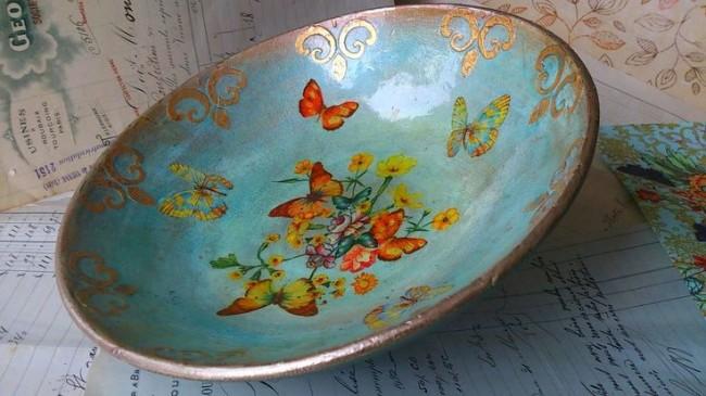 Немного усидчивости и вдохновения — и ваша посуда заиграет новыми красками