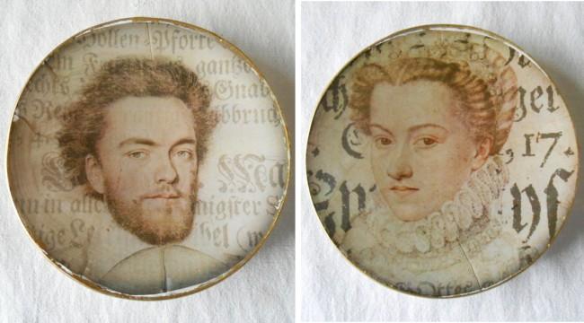 Для декорирования также можно использовать распечатанные фото либо просто портретные изображения