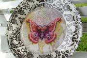 Фото 5 Декупаж тарелок своими руками: мастер-классы и 50 вдохновляющих фото с идеями подарков