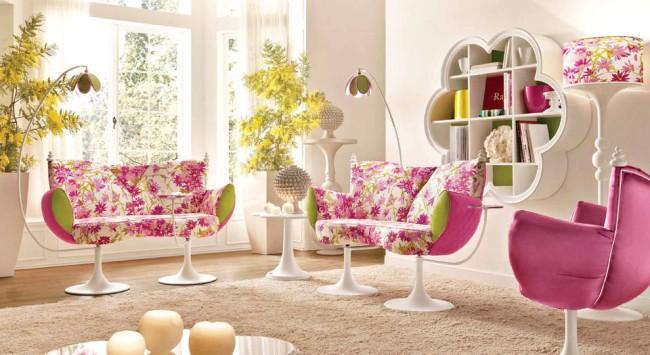 Декоративные диванчики для комнаты девочки в возрасте до 12 лет