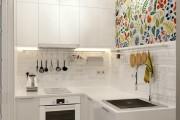 Фото 22 50 Идей дизайна маленькой кухни от 5 кв. м: как грамотно использовать каждый сантиметр площади