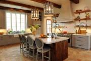 Фото 10 Дизайн кухни в стиле прованс: французский шарм и деревенское очарование (60 фото)