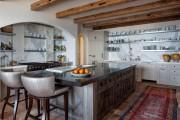 Фото 1 Дизайн кухни в стиле прованс: французский шарм и деревенское очарование (60 фото)