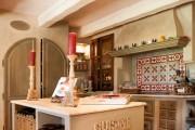 Фото 15 Дизайн кухни в стиле прованс: французский шарм и деревенское очарование (60 фото)